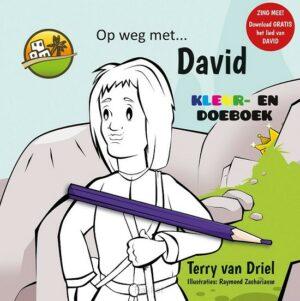 product afbeelding voor: Kleurboek Op weg met David