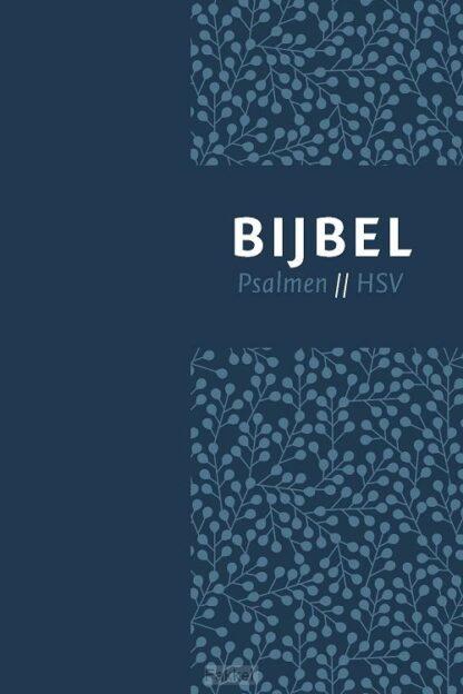 product afbeelding voor: Bijbel HSV psalmen vivella blauw 12x18cm