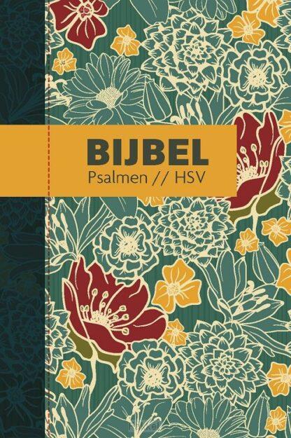 product afbeelding voor: Bijbel HSV psalmen bloemen 12x18cm