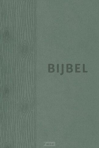 product afbeelding voor: Bijbel HSV vivella groen index 12x18cm