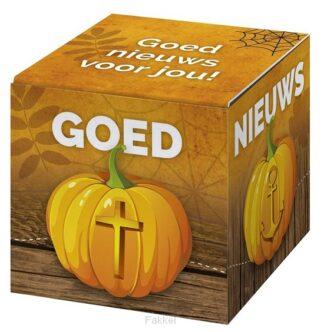 product afbeelding voor: Kadoosje goed nieuws voor jou /Halloween