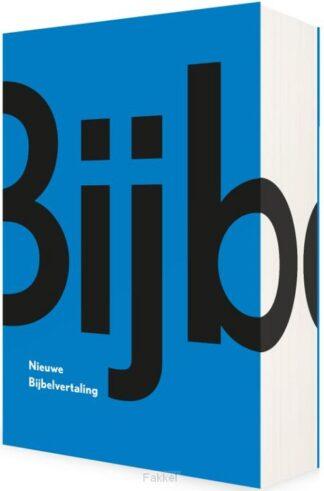 product afbeelding voor: Bijbel NBV blauw MIDPRICE
