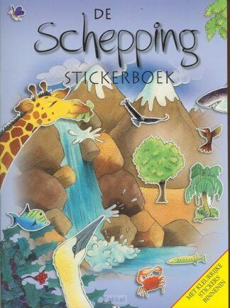 product afbeelding voor: De schepping stickerboek