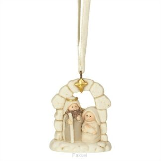 product afbeelding voor: Ornament holy family beige 5